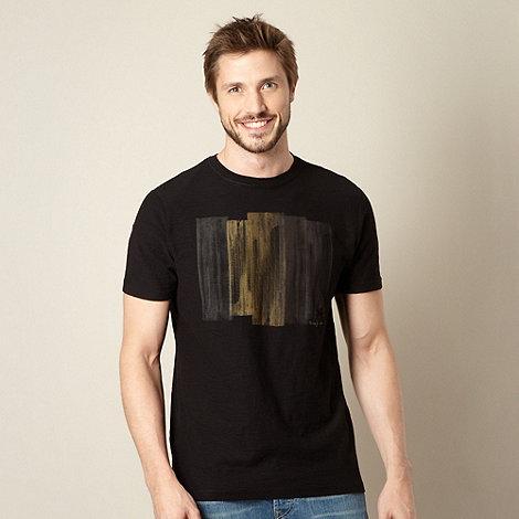 RJR.John Rocha - Big and tall designer black watermark t-shirt
