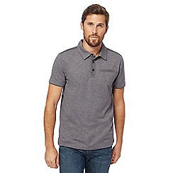 RJR.John Rocha - Big and tall grey marl polo shirt