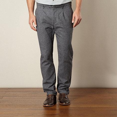 RJR.John Rocha - Designer dark grey trill trousers