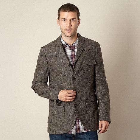 RJR.John Rocha - Designer brown flecked blazer