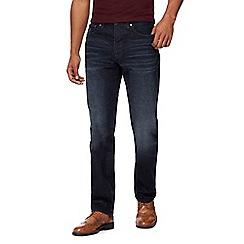 RJR.John Rocha - Dark blue mid wash straight leg jeans