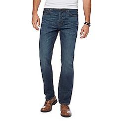 RJR.John Rocha - Blue vintage wash straight leg jeans
