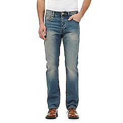 RJR.John Rocha - Big and tall designers blue relaxed fit denim jeans