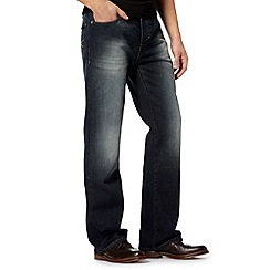 RJR.John Rocha - Big and tall designer blue denim bootcut jeans