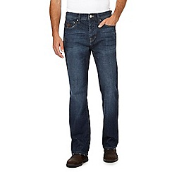 RJR.John Rocha - Big and tall blue mid wash straight leg jeans