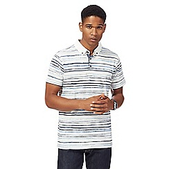 RJR.John Rocha - Off white striped polo shirt