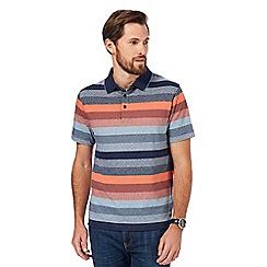 RJR.John Rocha - Orange striped polo shirt
