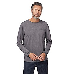 RJR.John Rocha - Grey marl long sleeve top