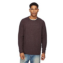 RJR.John Rocha - Multi-coloured zig zag knit lambswool rich jumper
