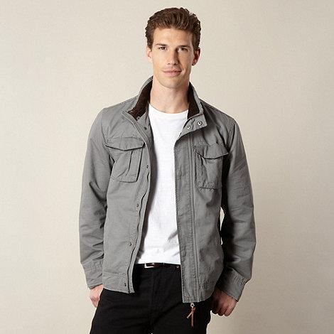 RJR.John Rocha - Designer grey washed harrington jacket