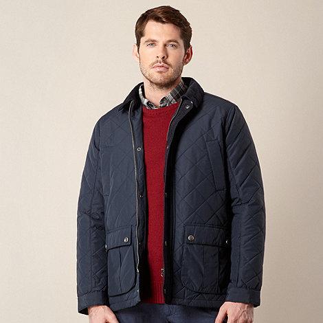 RJR.John Rocha - Designer navy quilted jacket