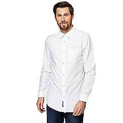 RJR.John Rocha - Big and tall white textured tailored fit shirt