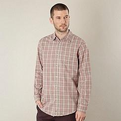 RJR.John Rocha - Designer red 'Marlon' checked shirt