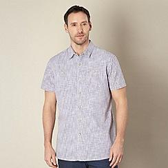 RJR.John Rocha - Designer purple crosshatch shirt