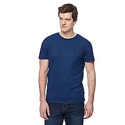 RJR.John Rocha - Big and tall navy printed t-shirt