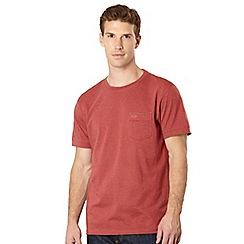 RJR.John Rocha - Big and tall designer red 'Bobby' pocket t-shirt
