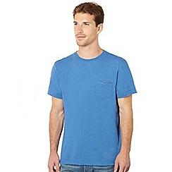 RJR.John Rocha - Big and tall designer bright blue crew neck t-shirt