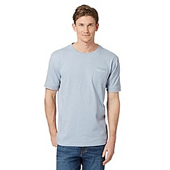 RJR.John Rocha - Big and tall designer pale blue 'Bobby' pocket t-shirt