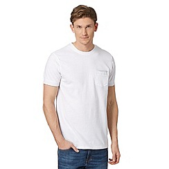 RJR.John Rocha - Big and tall designer white 'Bobby' pocket t-shirt