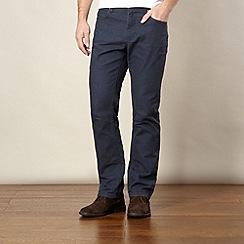 RJR.John Rocha - Designer navy linen blend trousers