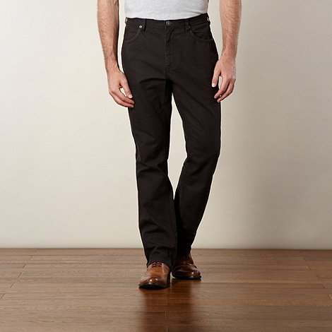 RJR.John Rocha - Designer dark grey linen blend trousers