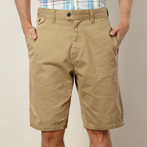 RJR.John Rocha - Natural twill chino shorts