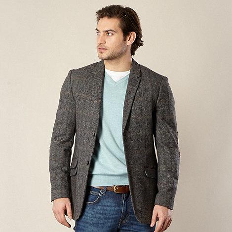 RJR.John Rocha - Designer grey Herringbone blazer