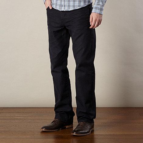 RJR.John Rocha - Designer navy raw straight leg jeans
