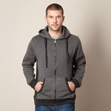 RJR.John Rocha - Big and tall designer grey fleece lined hoodie