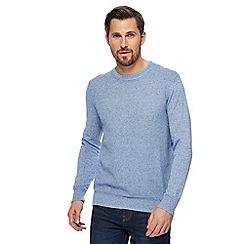 RJR.John Rocha - Light blue textured jumper