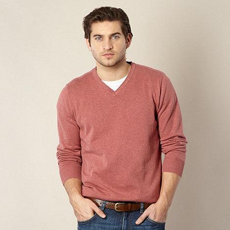 RJR.John Rocha - Designer red cotton jumper