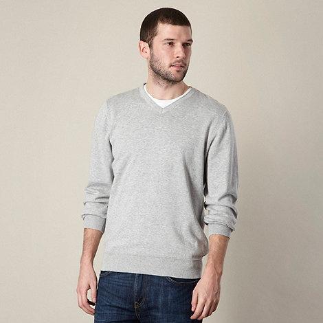 RJR.John Rocha - Designer grey cotton jumper