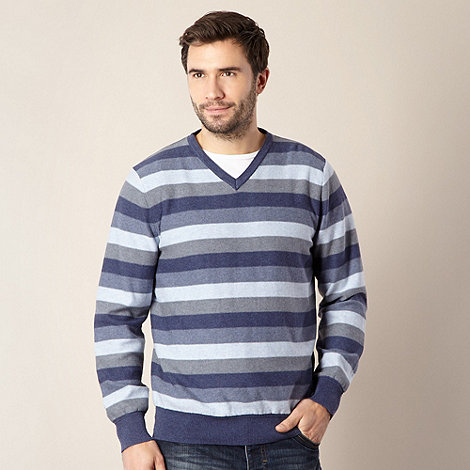 RJR.John Rocha - Designer blue striped jumper