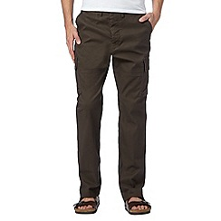 RJR.John Rocha - Big and tall designer brown cargo trousers