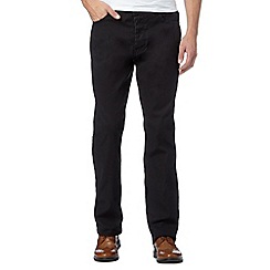 RJR.John Rocha - Designer black pindot trousers
