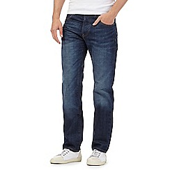 RJR.John Rocha - Big and tall designer blue vintage wash straight leg jeans