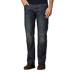 RJR.John Rocha - Big and tall designer dark blue vintage wash jeans