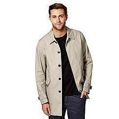 RJR.John Rocha - Big and tall designer natural shower resistant mac coat
