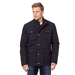 RJR.John Rocha - Big and tall designer navy poplin jacket