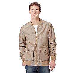 RJR.John Rocha - Designer natural bomber jacket