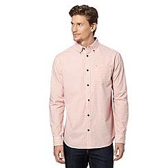 RJR.John Rocha - Designer red spot embroidered shirt