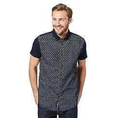 RJR.John Rocha - Designer navy star panel shirt