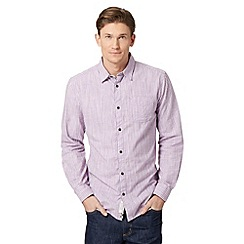 RJR.John Rocha - Big and tall designer lilac gingham checked shirt