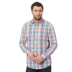 RJR.John Rocha - Designer orange checked shirt