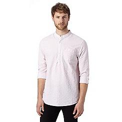 RJR.John Rocha - Designer pink fine striped kaftan shirt
