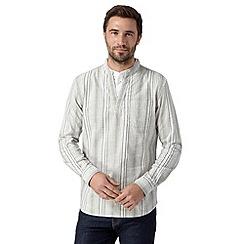 RJR.John Rocha - Designer off white striped kaftan top