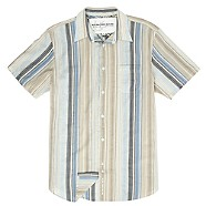 Rocha.John Rocha Blue striped short-sleeve shirt