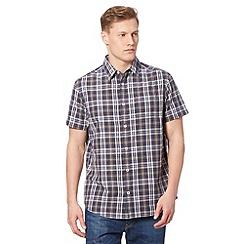 RJR.John Rocha - Designer navy multi tonal checked shirt