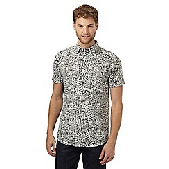 RJR.John Rocha - Big and tall designer off white floral shirt