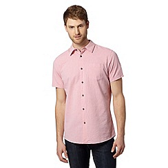 RJR.John Rocha - Big and tall designer pink faded spot oxford shirt
